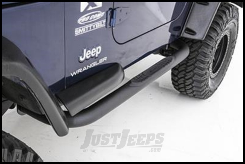 Just Jeeps Smittybilt Sure Step Side Bar 3 Quot With Step Pad