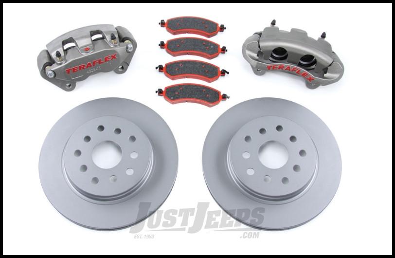 TeraFlex Front Big Brake Kit For 2007-18 Jeep Wrangler JK 2 Door & Unlimited 4 Door 4303400