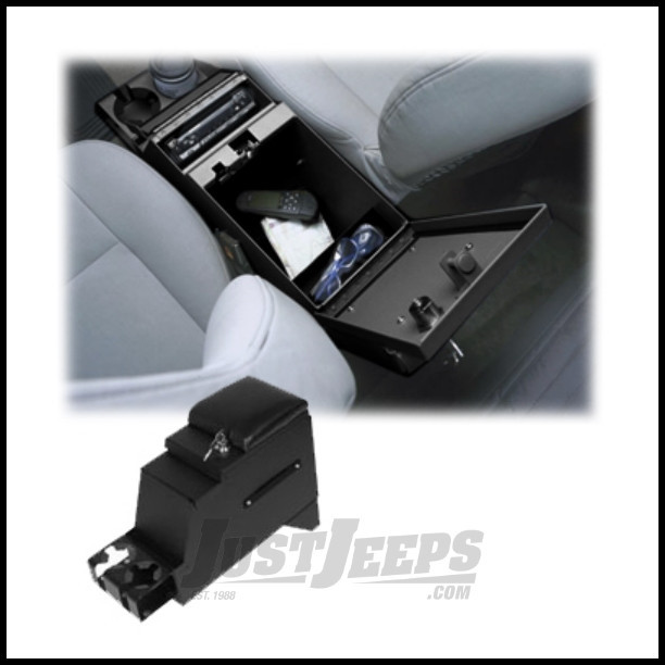 """Tuffy Products Deluxe Stereo Security Console 8"""" Wide For 1976-86 Jeep CJ Series & 1991-95 Wrangler YJ Models 013-"""