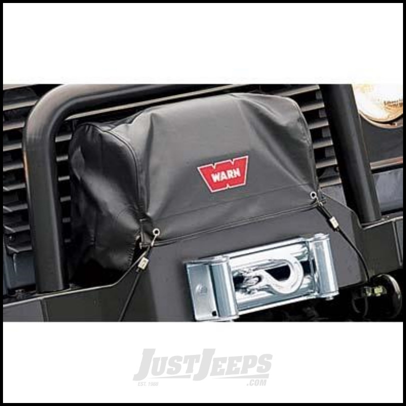 Just Jeeps Warn Soft Winch Cover For M8274 50 Winch Jeep