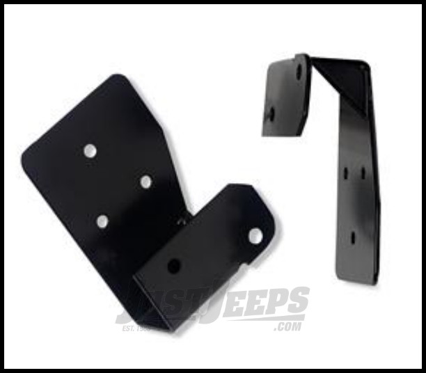Just Jeeps Warrior Products Mirror Relocation Brackets For