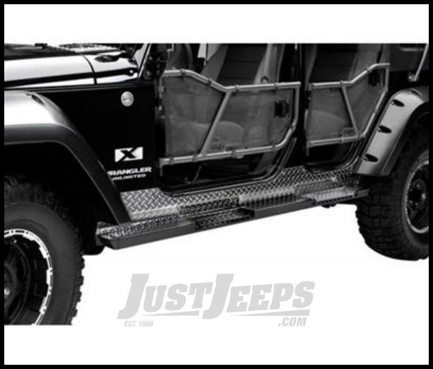 Just Jeeps Buy Warrior Products Rock Bars For 2007 14 Jeep
