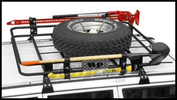 Just Jeeps Buy Warrior Products Safari Roof Rack For Xj