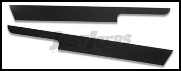 Just Jeeps Warrior Products Rocker Panel Sideplates For