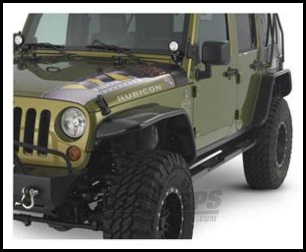 just jeeps buy warrior products 10 front tube fender. Black Bedroom Furniture Sets. Home Design Ideas