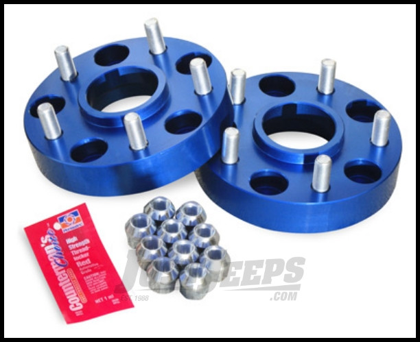 """SpiderTrax Wheel Spacer 1.25"""" For 5 X 5"""" Bolt Pattern For 1999-04 Jeep Grand Cherokee WJ WHS006"""