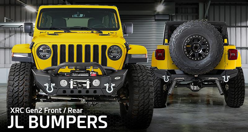Smittybilt Xrc Front Bumper >> Smittybilt Xrc Gen 2 Front Stubby Rear Bumper For 2018 Jeep Wrangler Jl 2 Door Unlimited 4 Door Models