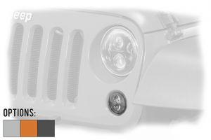 "JW Speaker 239 J2 Series 3.5"" Front Round LED Light Kit (Pair) For 2007-18 Jeep Wrangler 2 Door & Unlimited 4 Door Models 0346493-"
