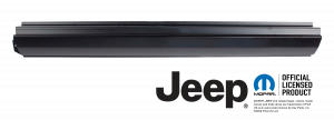 KeyParts Rocker Panel LH For 66-88 Jeep J-Series 0481-101