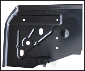KeyParts Replacement Steel Floor Pan (Rear Passenger's-Side Under Seat) For 1997-06 Jeep Wrangler TJ & TLJ Unlimited Models 0485-222