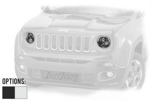 """JW Speaker Model 8700 Evolution 2R Renegade 7"""" LED Headlights For 2015+ Jeep Renegade BU Models 0553623-"""