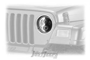 JW Speaker 8700 Evo2 LED (Single) Headlamp For 1955-06 Jeep CJ & Wrangler TJ & TLJ Unlimited Models 0554941-