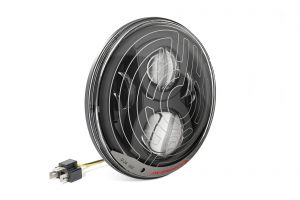 JW Speaker (Black) 8700 Evo2 Dual Burn w/ SmartHeat LED Headlamp For 1955-06 Jeep CJ & Wrangler TJ & TLJ Unlimited Models (Single) 0556281