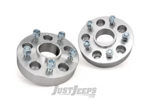 "Rough Country 2"" 5x5 Wheel Spacers For 2018+ Jeep Gladiator JT & Wrangler JL 2 Door & Unlimited 4 Door Models 10085"