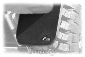 AEV Rear Splash Guards For 2007-18 Jeep Wrangler JK 2 Door & Unlimited 4 Door Models With AEV Rear Bumper 10305016AA