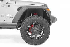 Rough Country Front & Rear Inner Fender Liner Set For 2018+ Jeep Wrangler JL 2 Door & Unlimited 4 Door Models 10499