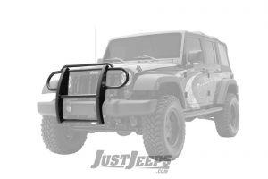 Aries Automotive Grille Guard For 2007-18 Jeep Wrangler JK 2 Door & Unlimited 4 Door Models Without Headlight Cage 1050