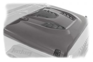 Rough Country Vented Performance Hood For 2007-18 Jeep Wrangler JK 2 Door & Unlimited 4 Door Models 10525