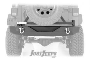 Rough Country Heavy-Duty Rear Bumper With Tire Carrier For 2007-18 Jeep Wrangler JK 2 Door & Unlimited 4 Door Models 10594A