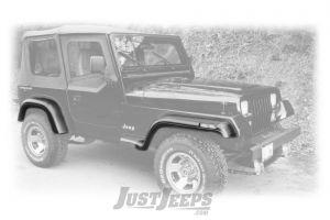 Bushwacker Extend-A-Fender For 1987-95 Jeep Wrangler YJ Models