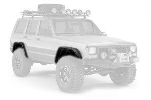 Bushwacker Flat Style Fender Flares For 1984-01 Jeep Cherokee XJ Models