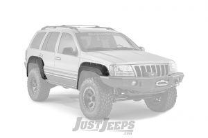Bushwacker Cut-Out Style Grand Cherokee Fender Flare Set For 1999-04 Jeep Grand Cherokee WJ Models