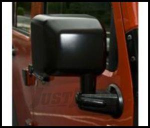Rugged Ridge Manual Side Mirror Passenger For 2007-18 Jeep Wrangler JK 2 Door & Unlimited 4 Door Models 11002.12