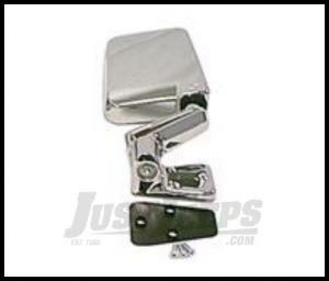 Rugged Ridge Passenger Side Mirror Chrome Finish For 1988-02 Wrangler 11010.06
