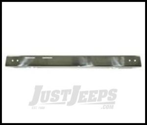 Rugged Ridge Front Bumper Overlay Polished stainless For 1987-95 Jeep Wrangler YJ 11109.02