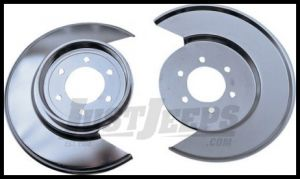 Rugged Ridge Stainless Steel Disc Brake Dust Shield 1977-78 Jeeps CJ Series 11121.01