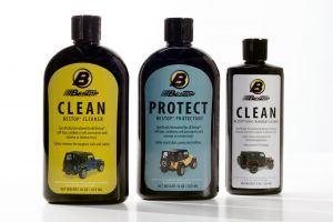 BESTOP Soft Top Three Pack Cleaner & Protectent Kit For Standard Vinly Tops 11205-00