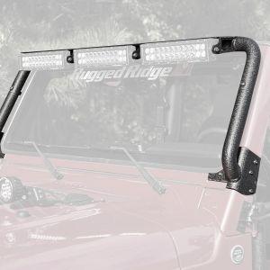 Rugged Ridge Windshield Mounted Light Bar For 1997-06 Jeep Wrangler TJ & TJ Unlimited Models 11232.08