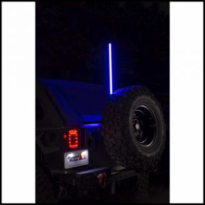 "Rugged Ridge Multi-Colored Light Up Whip 39"" With Bracket & Handheld Controller 11250.22"