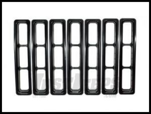 Rugged Ridge Grill Inserts in Black 1997-06 TJ Wrangler, Rubicon and Unlimited 11306.03
