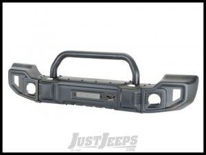 Rugged Ridge Sparticus Front Bumper (With Hoop) For 2007-18 Jeep Wrangler JK 2 Door & Unlimited 4 Door Models 11544.09