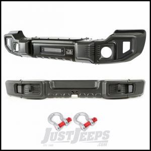 Rugged Ridge Spartacus Front & Rear Bumper Set With D-Ring Shackles For 2007-18 Jeep Wrangler JK 2 Door & Unlimited 4 Door Models 11544.60