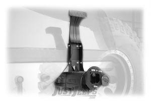 Rough Country Third Brake Light Extension For 2007-18 Jeep Wrangler JK 2 Door & Unlimited 4 Door Models 1171