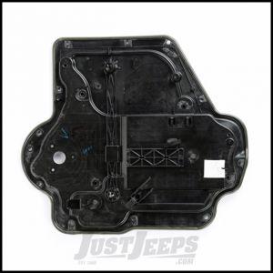 Omix-ADA Front Passenger Carrier Plate Door Panel For 2007-10 Jeep Wrangler JK 2 Door & Unlimited 4 Door Models - Manual 11812.71