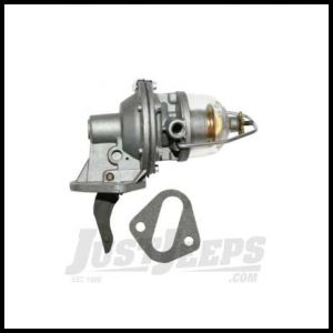 Omix-ADA Fuel Pump For 1941-71 Jeep M & CJ Series With 134 With Glass Bowl Without Vacuum Wipers 17709.01