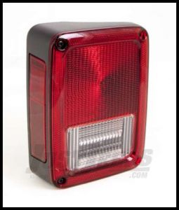 Omix-ADA Taillight Assembly Driver Side For 2007-18 Jeep Wrangler JK 2 Door & Unlimited 4 Door Models 12403.37