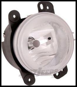 Omix-ADA Fog Light Assembly For 2007-09 Jeep Wrangler JK 12407.12