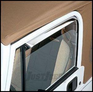 Auto Ventshade Window Deflectors For 1976-95 Jeep CJ Series & Wrangler YJ Models 12415