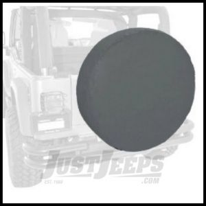 """Rugged Ridge Tire Cover For 35""""-36"""" In Black Denum - Universal 12804.15"""