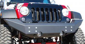 Off Camber Fabrications Front Full Width Bumper For 2007-18 Jeep Wrangler JK 2 Door & Unlimited 4 Door Models 131092