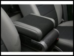 Rugged Ridge Arm Rest Pad Gray/Black Neoprene 2007-10 JK Wrangler, Rubicon and Unlimited 13107.09