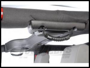 Rugged Ridge Rear Side Grab Handles Black For 2007-18 Jeep Wrangler JK 2 Door & Unlimited 4 Door Models 13305.14