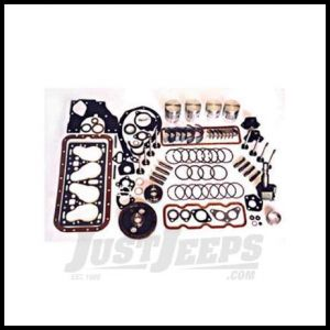 Omix-ADA Engine Overhaul Kit For 1954-71 CJ Series With 4 cylinder 134 F-head engine 17405.03