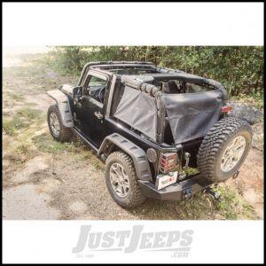 Rugged Ridge Eclipse Cargo Barrier For 2007-18 Jeep Wrangler JK 2 Door Models 13579.41