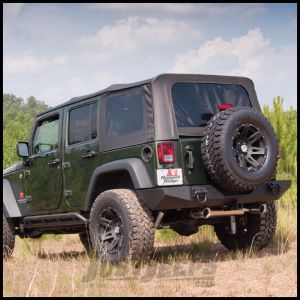 Rugged Ridge Sailcoth Replacement Soft Top Black Diamond For 2007-09 Jeep Wrangler JK, Rubicon and Unlimited 13741.01