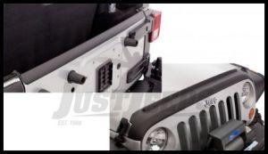 Bushwacker TrailArmor Hood & Tailgate Protector For 2007-18 Jeep Wrangler JK 2 Door & Unlimited 4 Door Models
